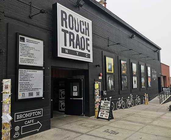 Le retour de Rough Trade à Paris