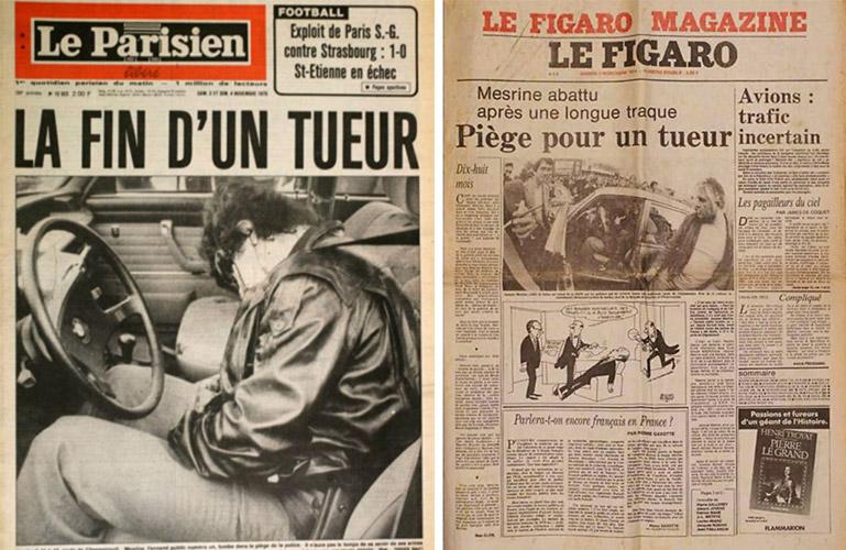 Ephéméride : Jacques Mesrine est abattu (1979)