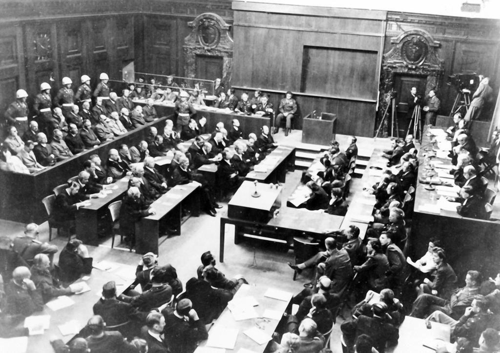 Ephéméride (1945) : Procès des grands criminels de guerre à Nuremberg