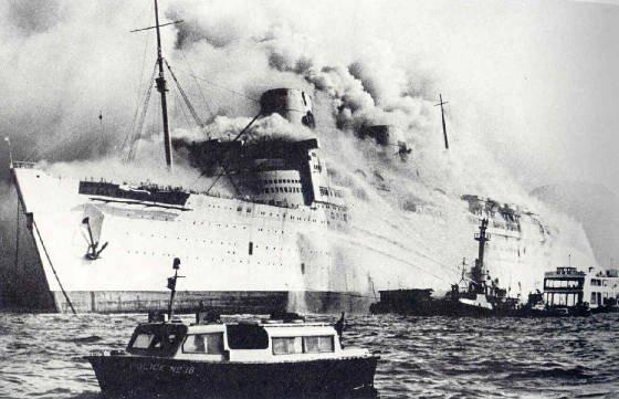 Ephéméride (1972) : Le Queen Elizabeth incendié