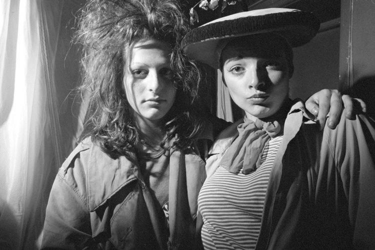 Karen-Knorr-&-Olivier-Richon,-Nina-H-agën-et-Ari-Up,-Série-Punk,-1977