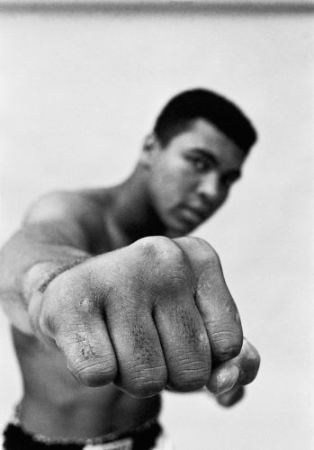 Thomas-Hoepker,-Muhammad-Ali-showing-off-his-right-fist,-1966_CAMERA-WORK