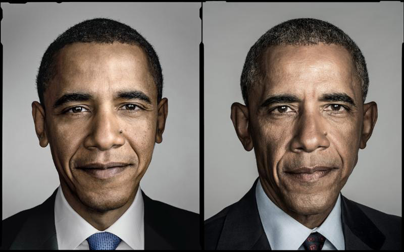 Barack Obama par Dan Winters