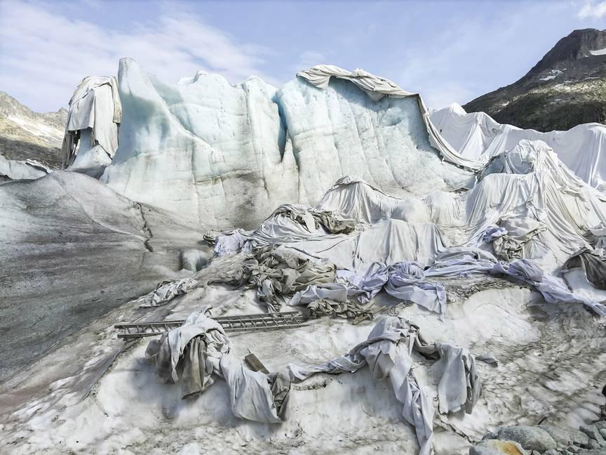 Lausanne : Ouverture de l'exposition «Sans limite» Photographies de montagne