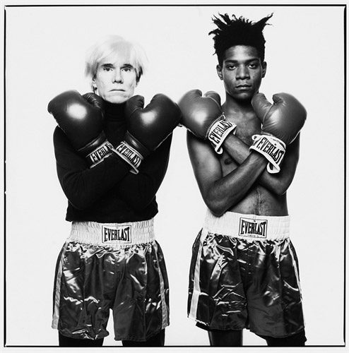 michael-halsband-andy-warhol-and-jean-michel-basquiat-with-boxing-gloves-photographs-zoom_494_500