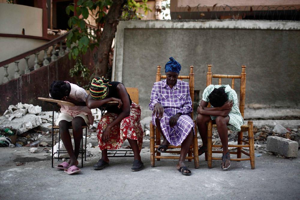 Ephéméride (2010) : Séisme d'une magnitude de 7 à Haiti