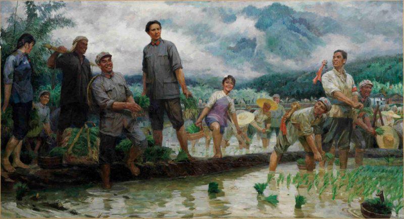 12_Tang-Xiaohe_Spring-Rain-in-Jinggang-Mountain,1976