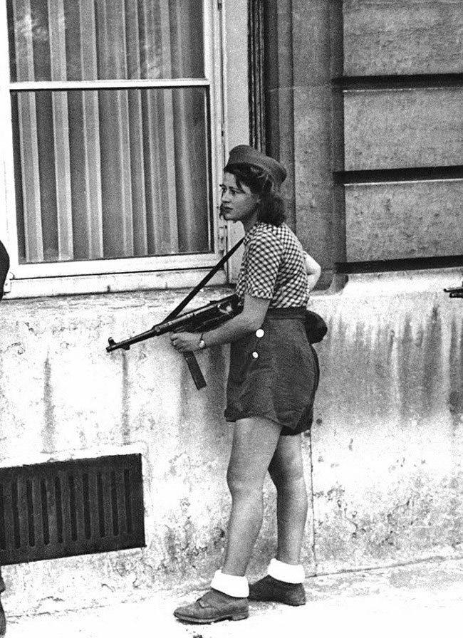 Portrait de Femmes : Simone Segouin, figure de la résistance française