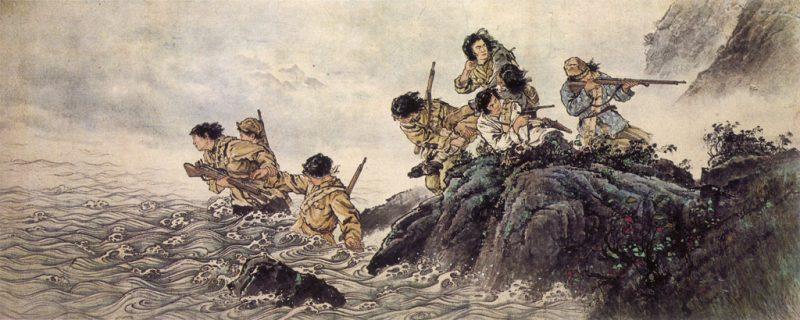 1_Wang-Shenglie_Eight-Heroines,1957