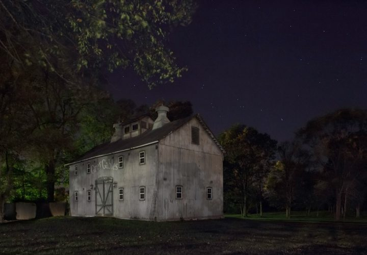Look-for-the-Gray-Barn-Out-Back.-Joshua-Eliason-Jr.-barnyards-and-farmhouse,-with-a-tunnel-leading-underneath-the-road-to-another-station,-Centerville,-Indiana,-2013