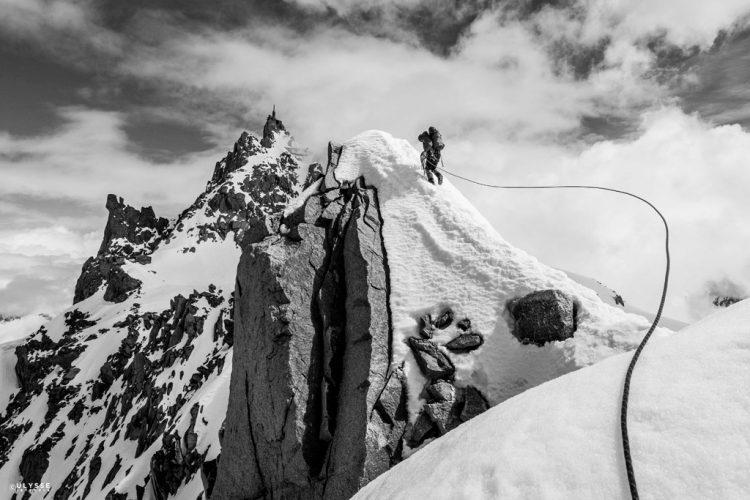 10.-Sommet.-Vers-l'arête-des-Cosmiques,-Mont-Blanc,-2013-®UlysseLefebvre