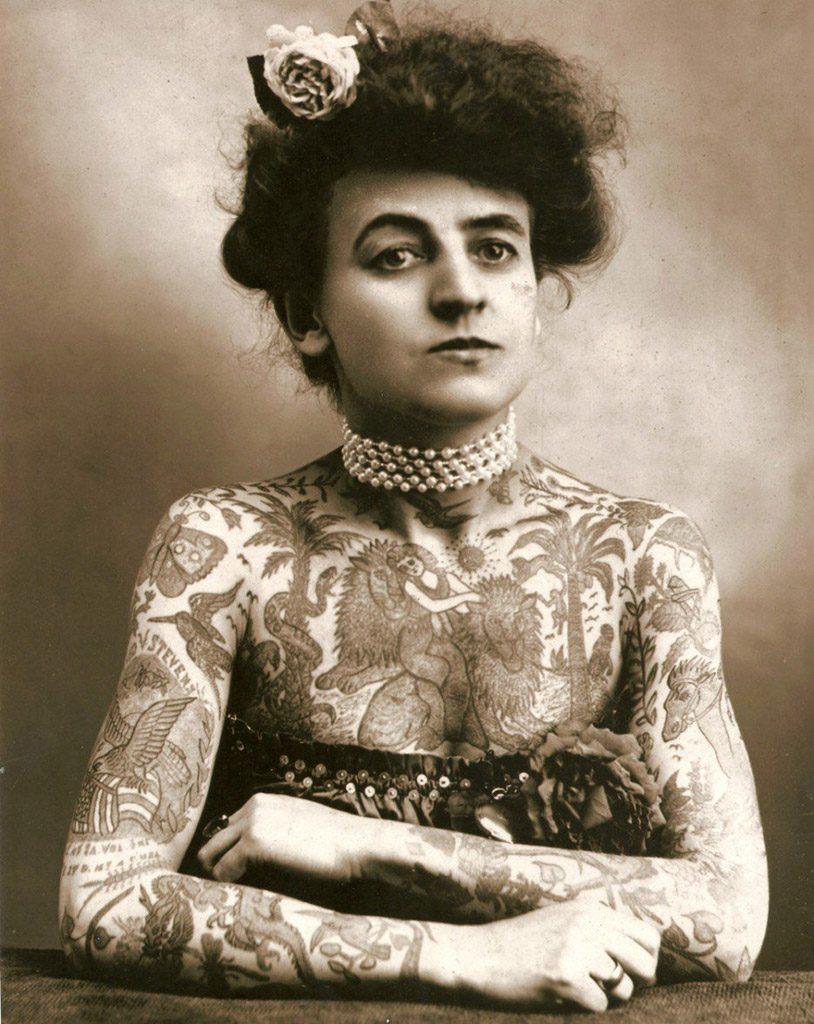 Portrait de Femmes : Maud Wagner, première femme tatoueuse