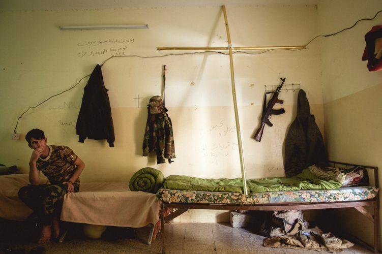 Quentin-Bruno-Christian-militia-dormitory