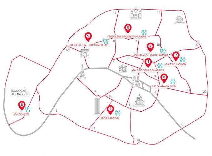 Carte-parcours