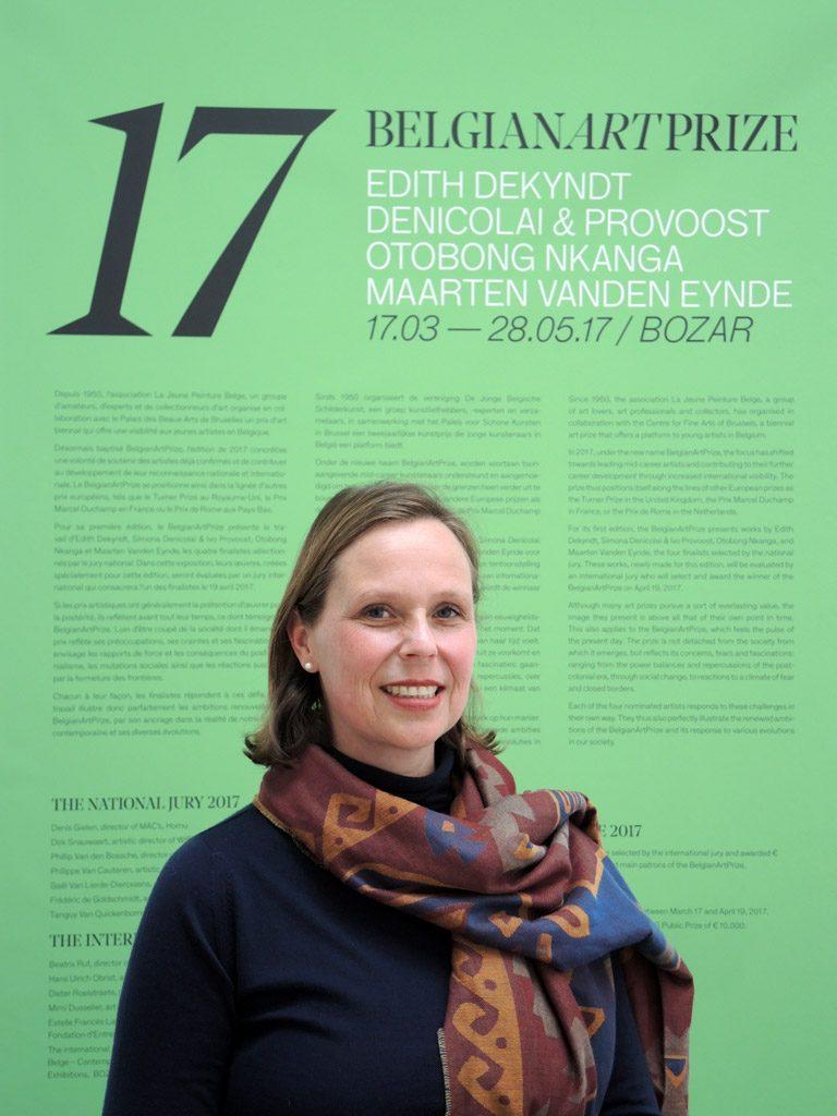 Rencontre avec Carole Schuermans, Directrice du BelgianArtPrize 2017