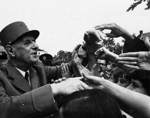 Président-Charles-de-Gaulle,-Montréal,-juillet-1967.