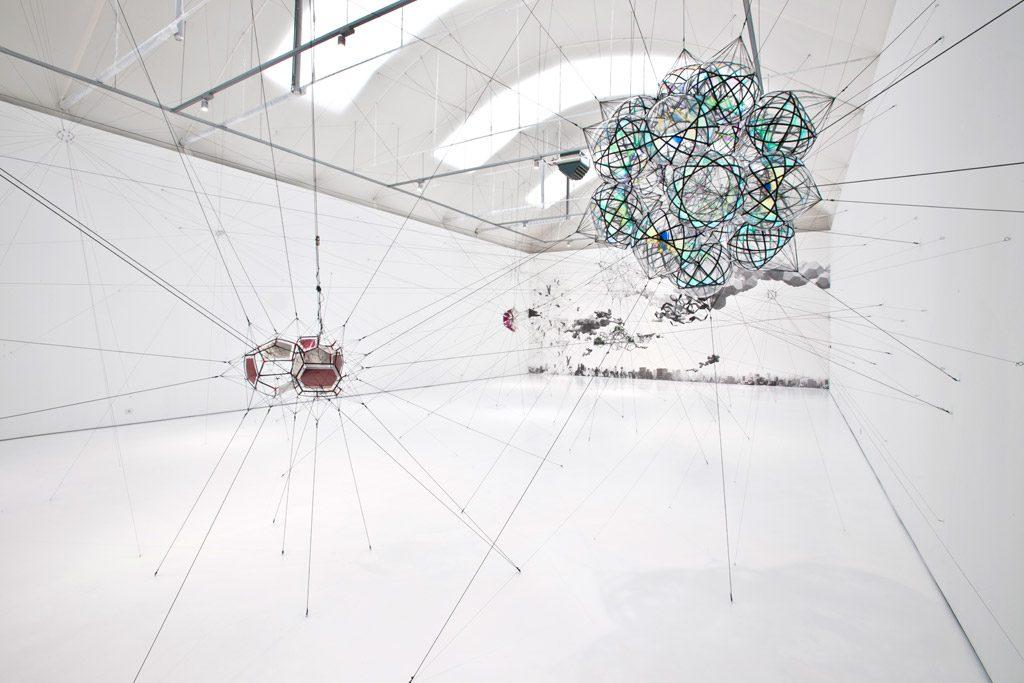 Tomás Saraceno investit la Vanhaerents Art Collection