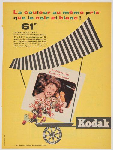 Publicité-Kodak-pour-le-film-Kodachrome--1940-1950-©-Kodak---Reproduction--Musée-de-l-Elysée--Lausanne