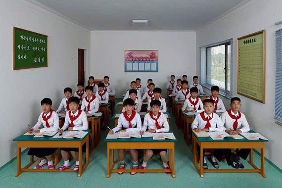 Moscou : Ouverture de l'exposition (Im)possible to see – North Korea