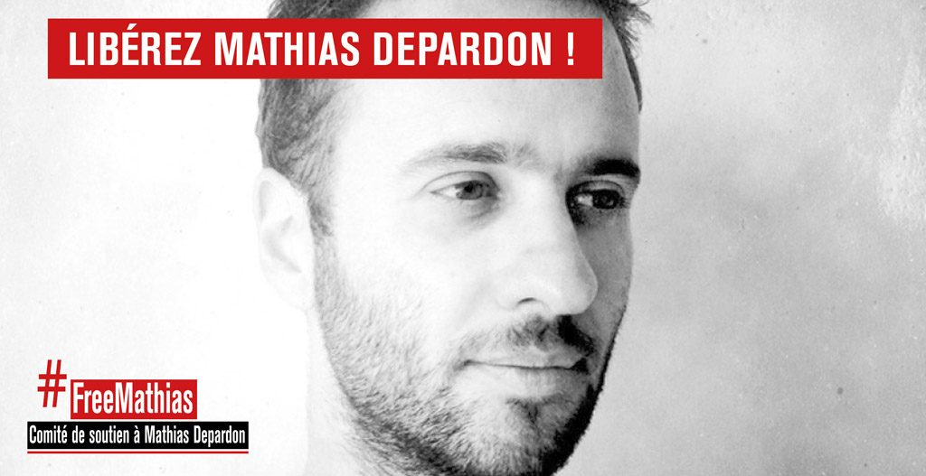 #FreeMathias : création du comité de soutien à Mathias Depardon