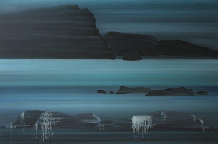Anne-Guillotel,-archipel,-2013,-huile-sur-toile,-97-x-146-cm