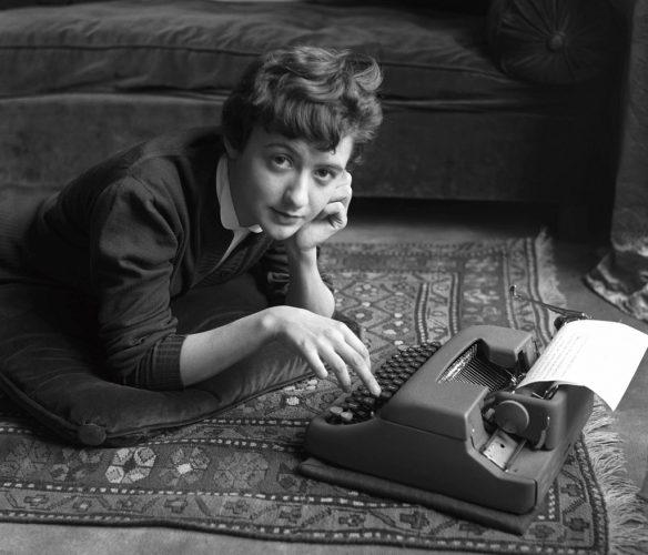 Franáoise-Sagan,-1954-∏-Sabine-Weiss