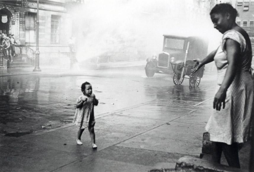 New York : Inauguration de l'exposition d'Helen Levitt