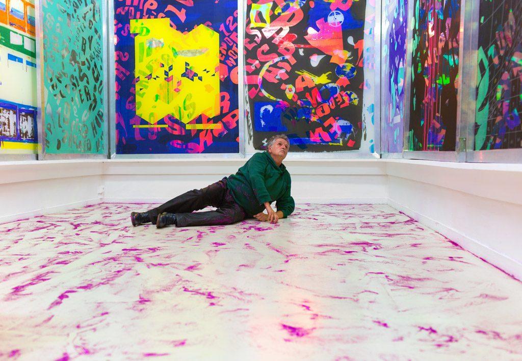 Maxime Rossi au musée départemental d'art contemporain de Rochechouart
