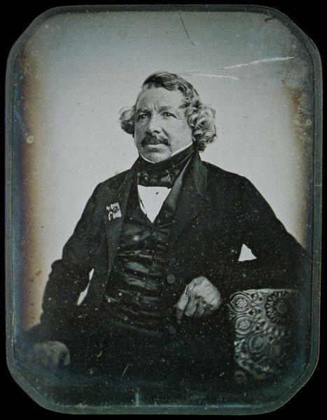 Ephéméride (1851) : Mort de Daguerre