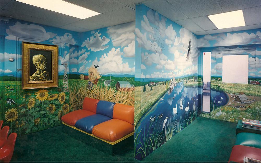 Great Art in Ugly Rooms : Van Gogh