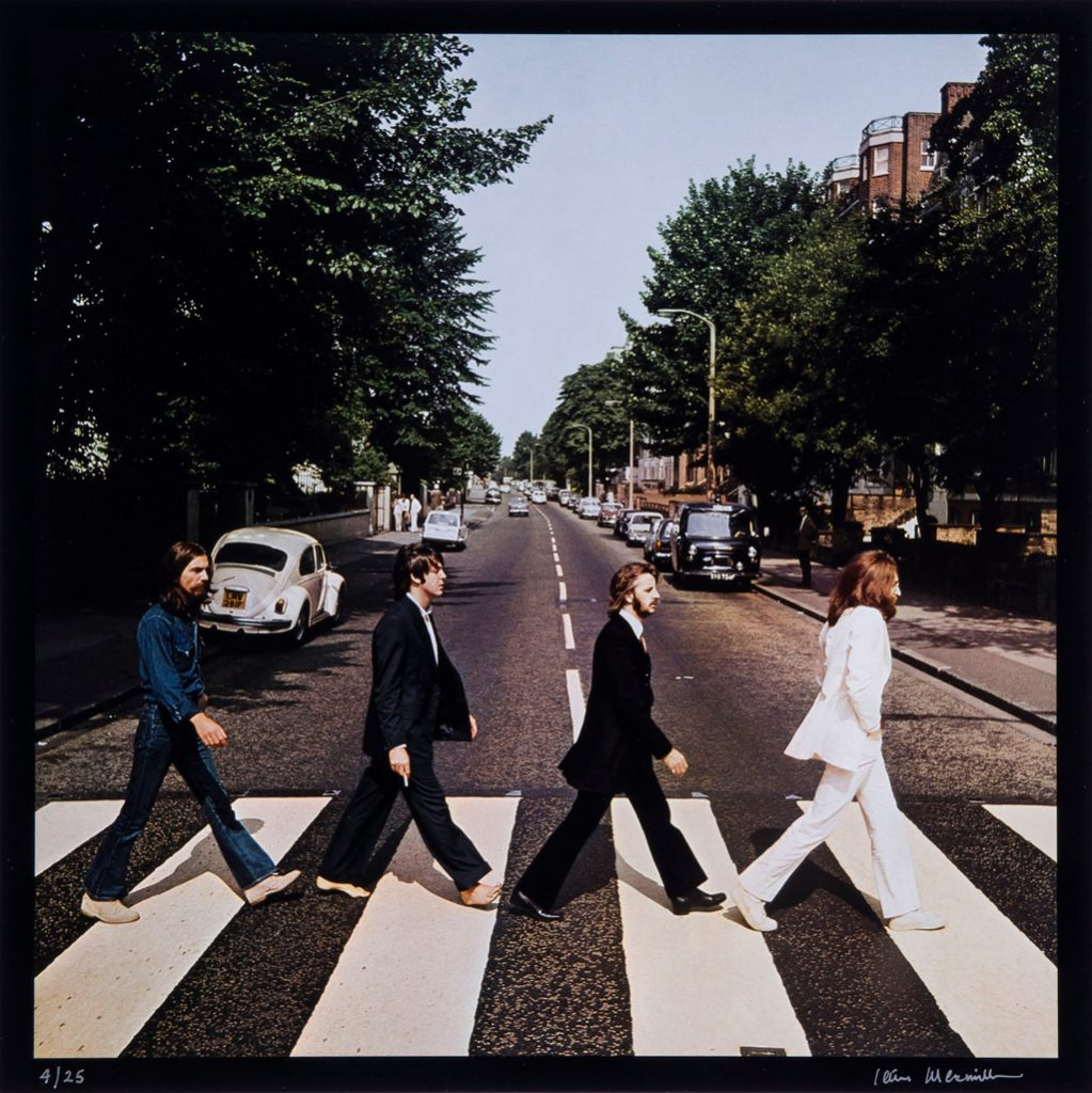Ephéméride (1969) : Réalisation de la couverture d'Abbey Road des Beatles