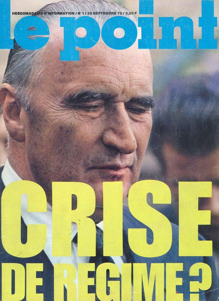 Ephéméride (1972) : Sortie du premier numéro du journal Le Point