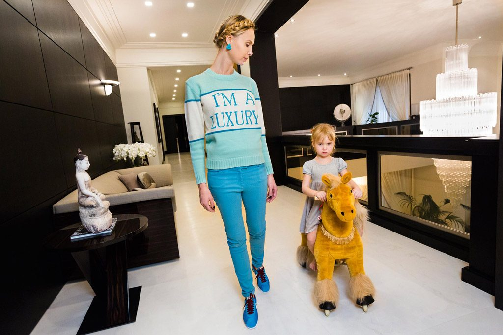 New York : Ouverture de l'exposition Generation Wealth
