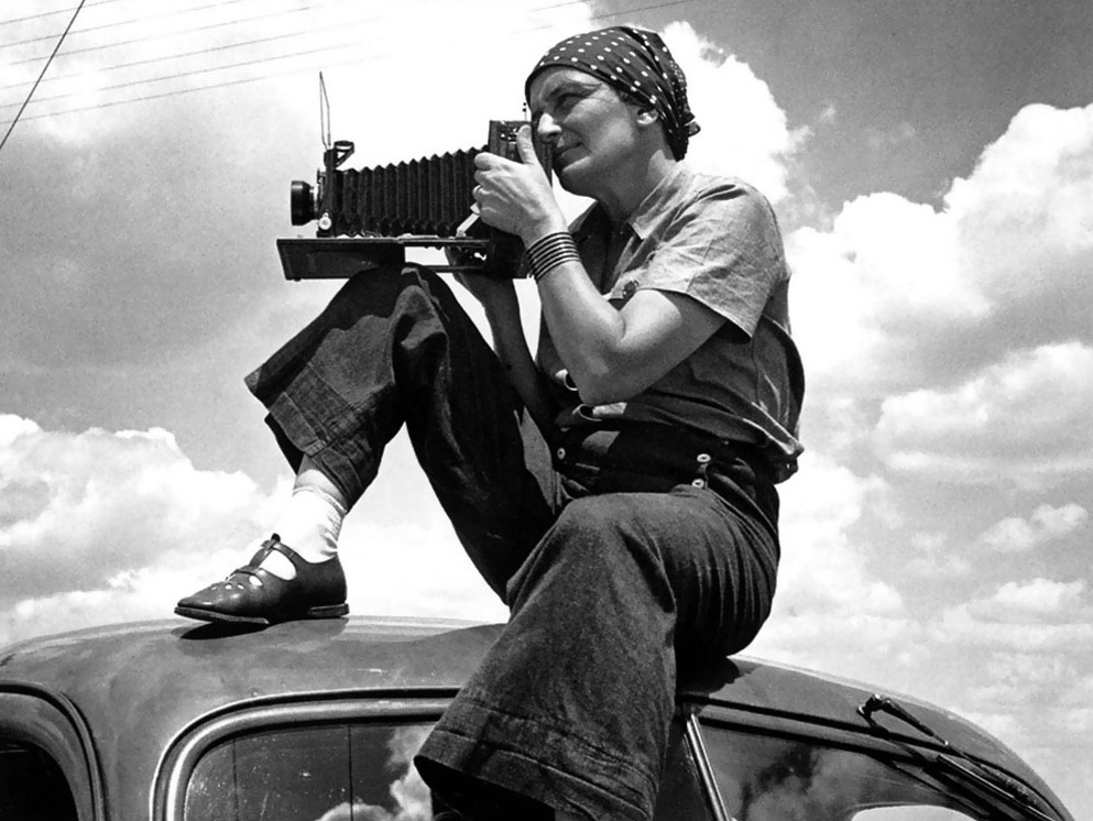 #PFP / 5 photographes de la Farm Security Administration : Dorothea Lange