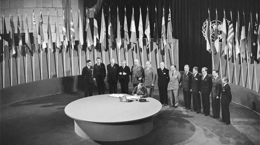 Ephéméride (1945) : Naissance de l'ONU