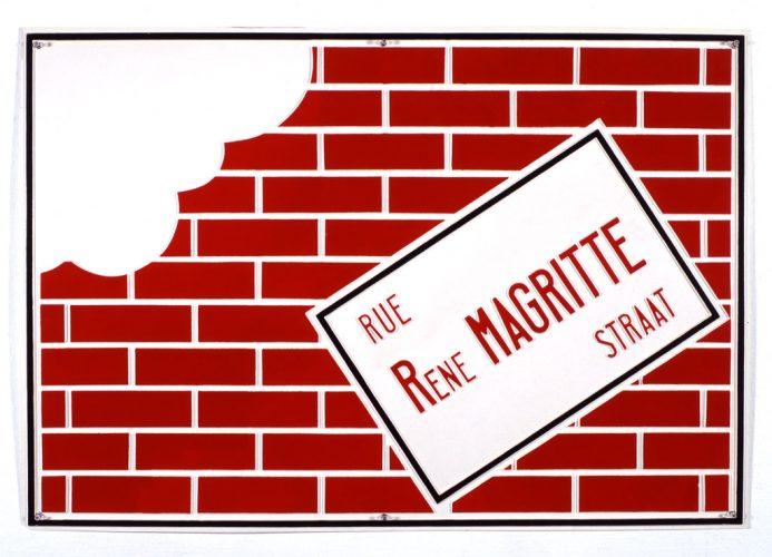 BROODTHAERS_rue-rene-magritte-straat