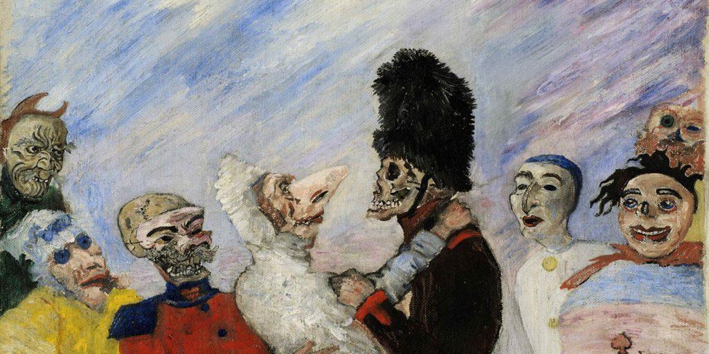 Tradition carnavalesque et travestissement contemporain, Halloween et les mascarades de l'art !