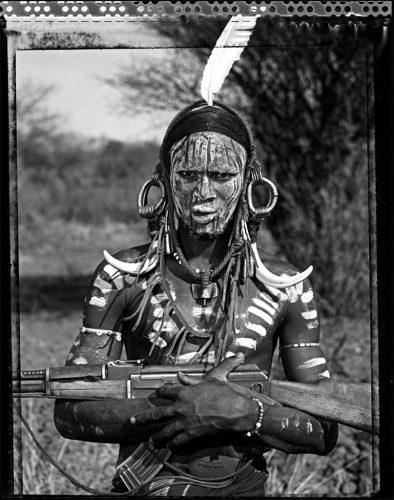 Olosemi,-ethnie-Mursi,-Mago-Park,-vallée-de-l'Omo,-Éthiopie