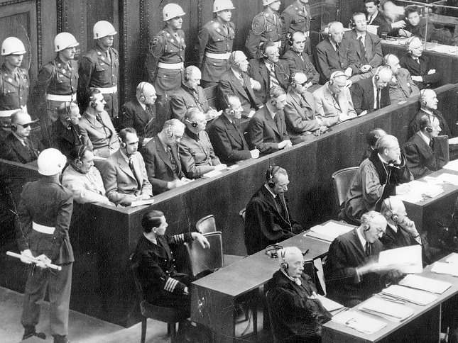 Ephéméride (1946) : Exécution des chefs nazis