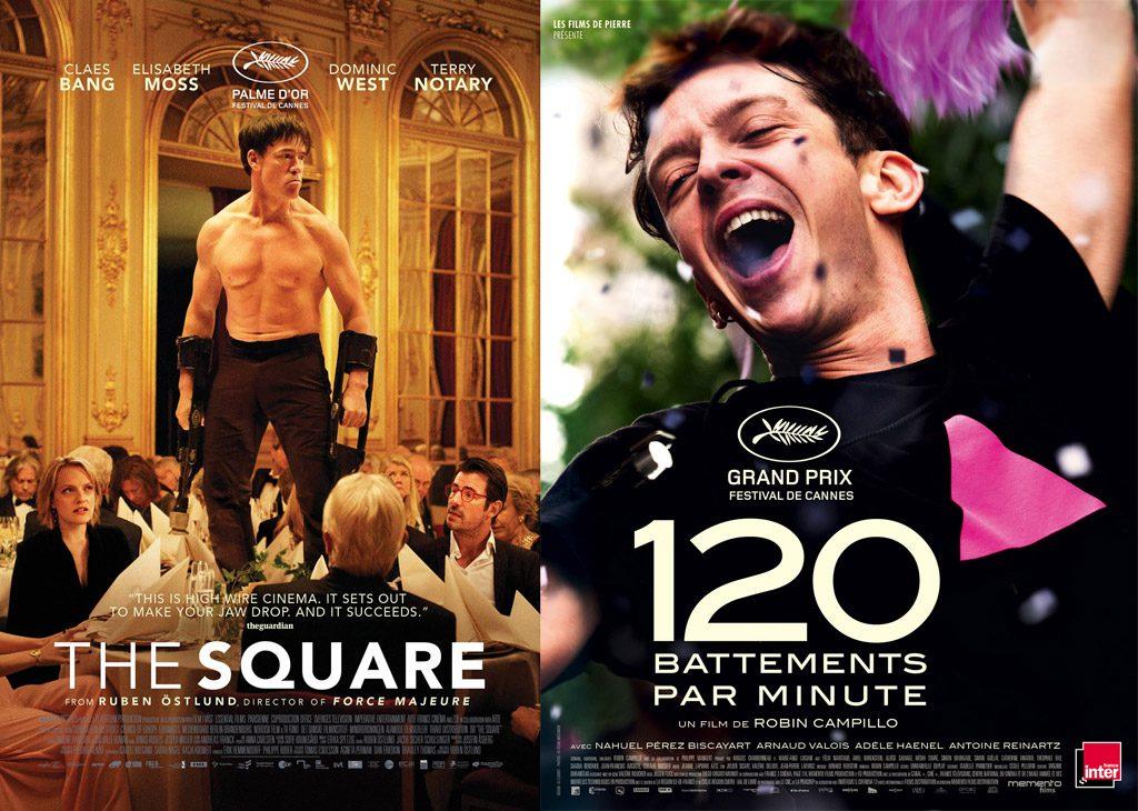 Carte Blanche à Frédérique Founès et Marie Karsenty : « The Square » & « 120 battements par minute »