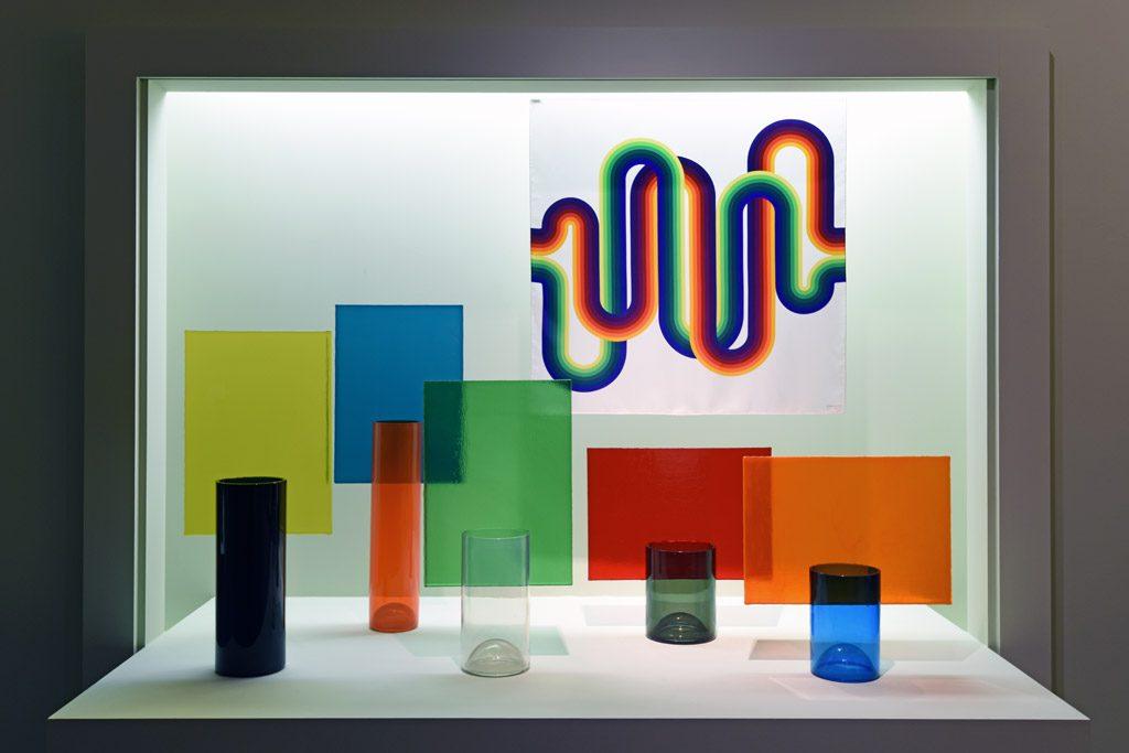 Fascinante «expérience de la couleur» à la cité de la céramique, Sèvres (40 ans du Centre Pompidou)