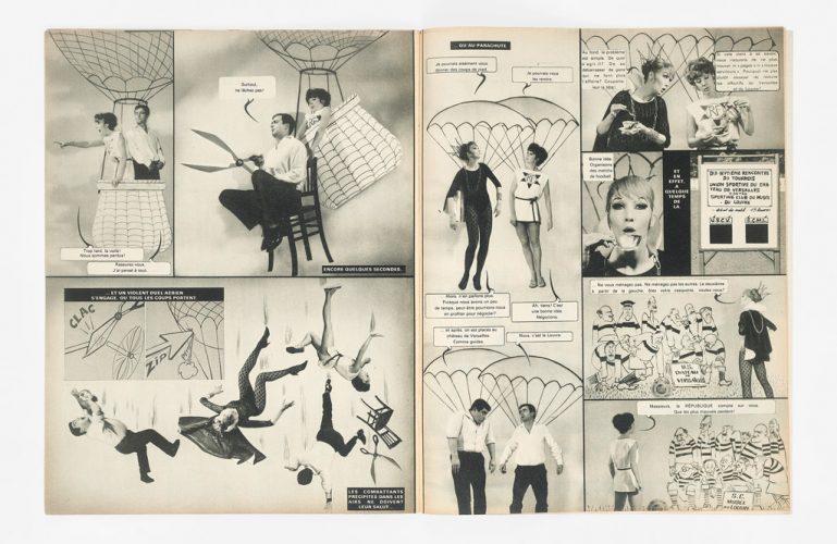 12_G_Wolinski_et_C_Reynolds_extrait_Hara_Kiri_1965_photo_Michel_Lepinay(c)Lepinay_cliche_Mucem_Yves-Inchierman