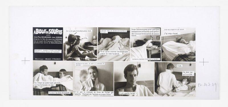 3_cine-roman_A_bout_de_souffle(c)Raymond_Cauchetier_cliche_Mucem_Yves_Inchierman