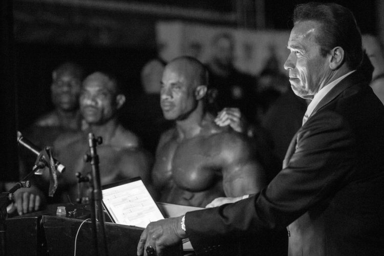 Arnold-in-backstage-(Arnold-Classic-Africa-2016--Johannesburg,-South-Africa)