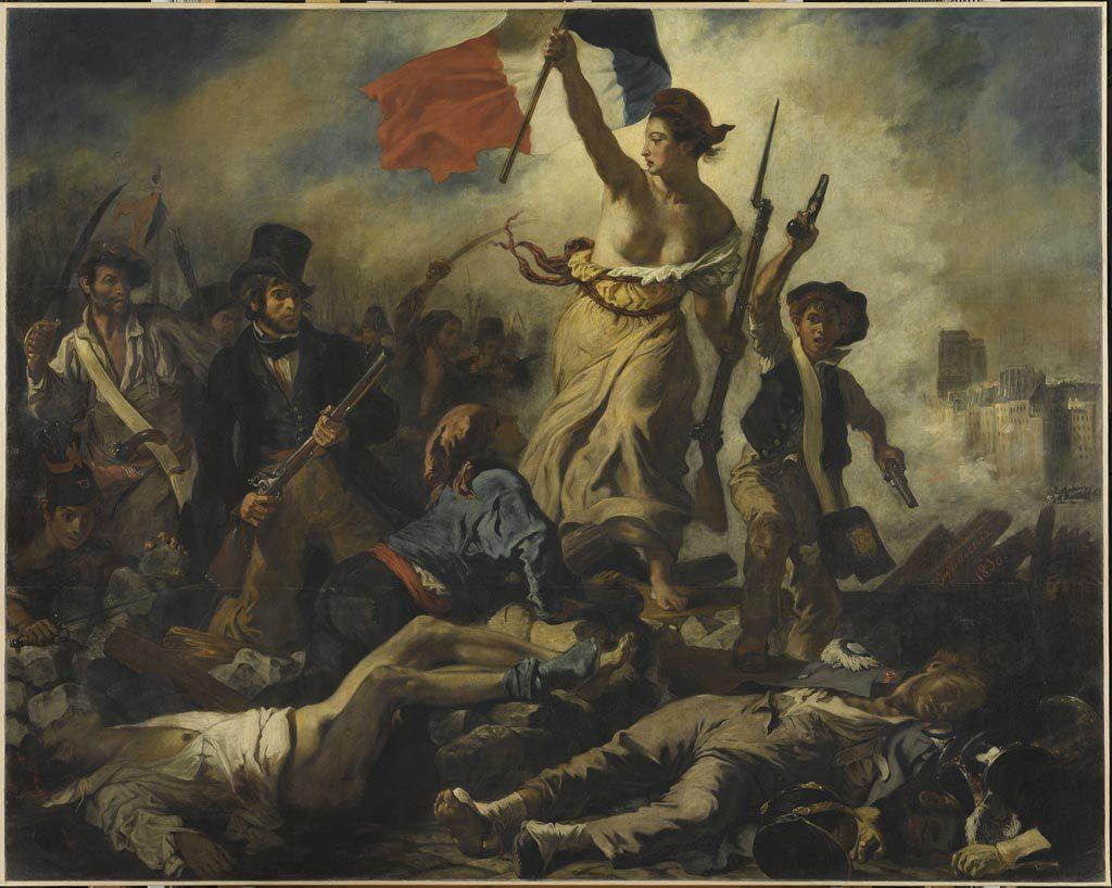 Delacroix y a t-il une vie après «la Liberté guidant le peuple» ? (Le Louvre)