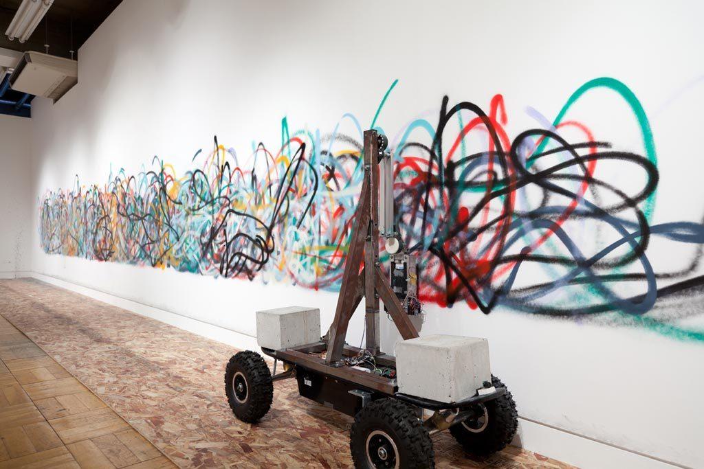 Laurent Mignonneau, les artistes et les robots (Grand Palais)