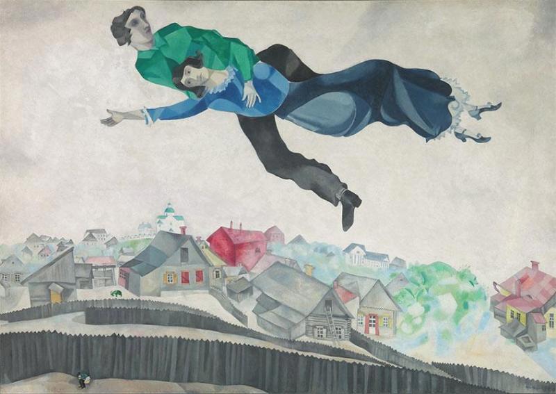 Chagall, Lissitzsky, Malevitch l'avant-garde russe à Vitebsk (Centre Pompidou)