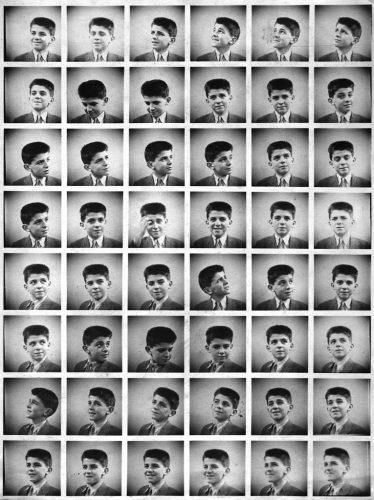 6)-Planche-de-portraits-selon-le-procédé-Polyfoto,-vers-1950
