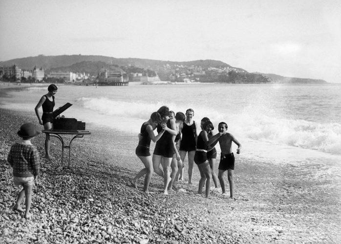 Maurice-Louis-Branger-Musique-sur-la-plage