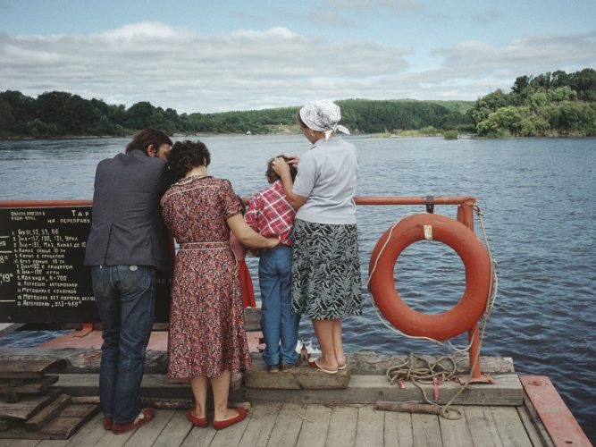 ©Claudine-Doury.-Une-odyssée-sibérienne-Sur-le-fleuve-Amour-près-de-Blagovechtchensk,-Russie-1991